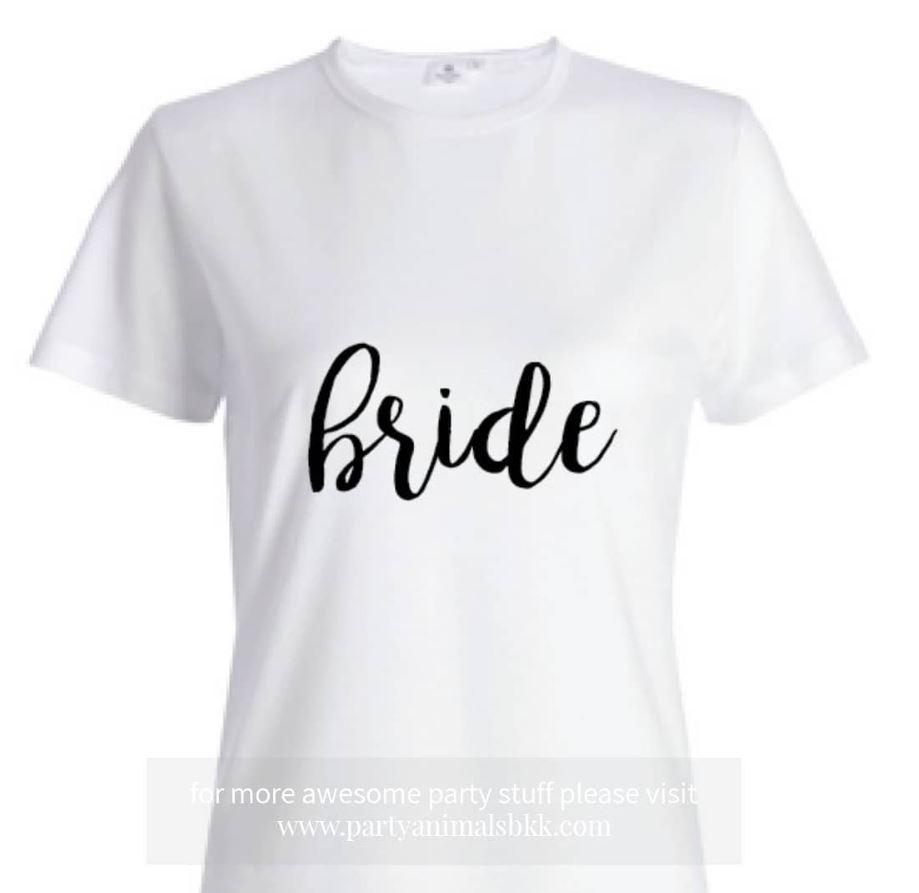 BRIDE Shirt (Black & White)