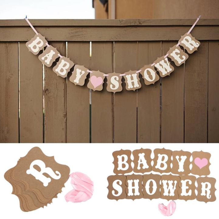 ป้ายแขวน BABY SHOWER