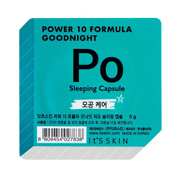 It's Skin Power 10 Formula Goodnight Po Sleeping Capsule