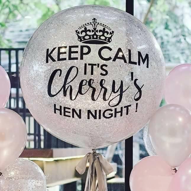 เซ็ทลูกโป่งงานปาร์ตี้สละโสด Hen Night - Set 2