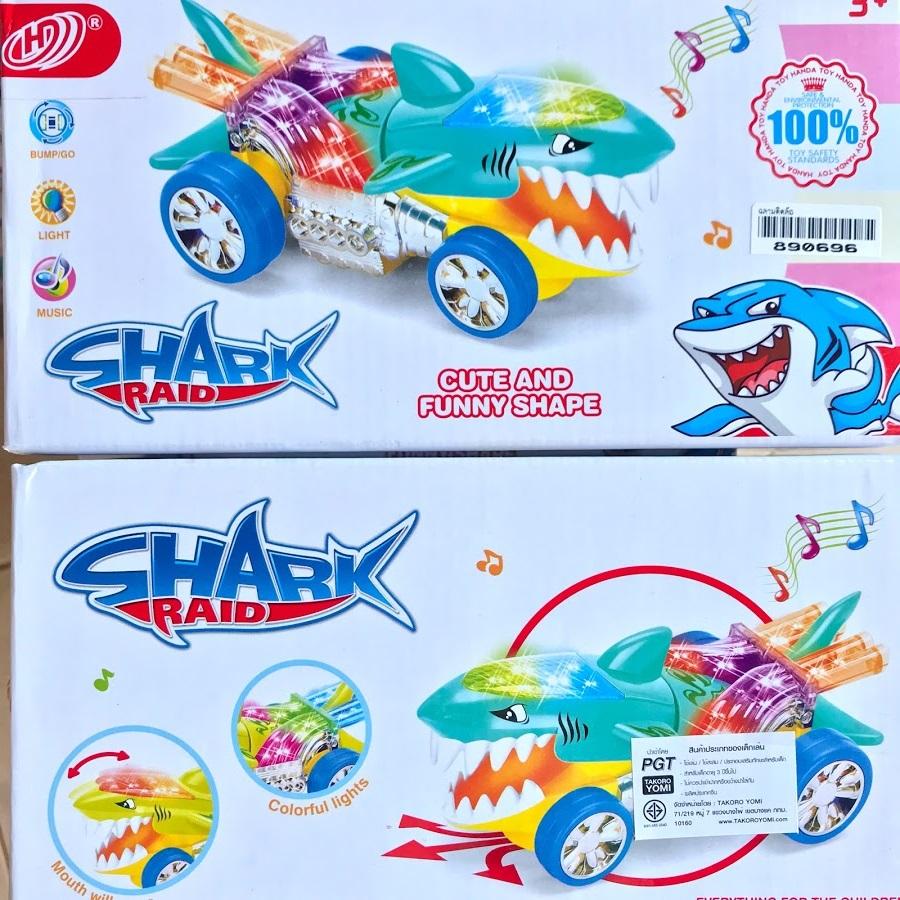 ของเล่นเด็ก ฉลามติดล้อ