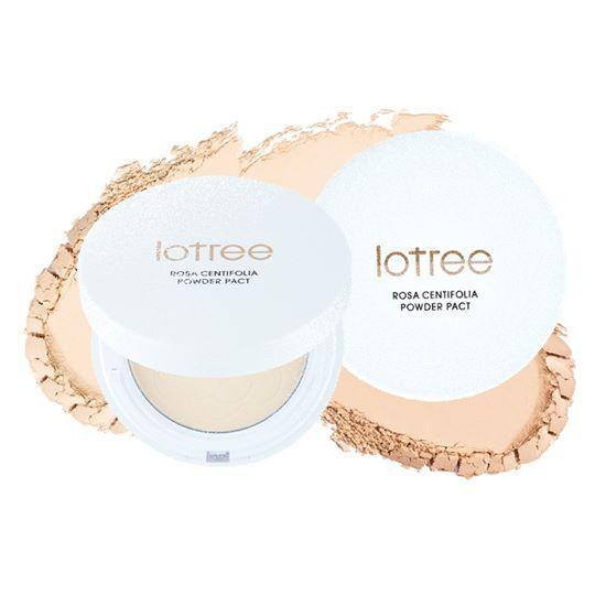 Lotree Rosa Centifolia Powder Pact SPF40 PA++ 12g #N21 Natural Beige