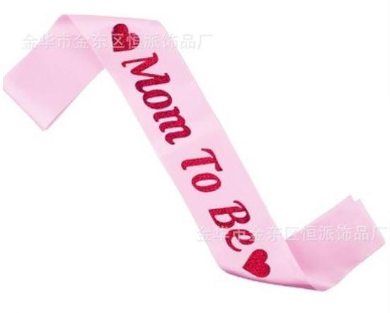 สายสะพาย MOMMY TO BE (Pink)