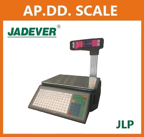 ตาชั่งคำนวณราคา15กิโลกรัม เครื่องชั่งแสดงคำนวณราคา15000g ตาชั่ง15กิโล เครื่องชั่งน้ำหนักชั่ง15kg ความละเอียด0.005kg ยี่ห้อ JADEVER รุ่น JLP-15K