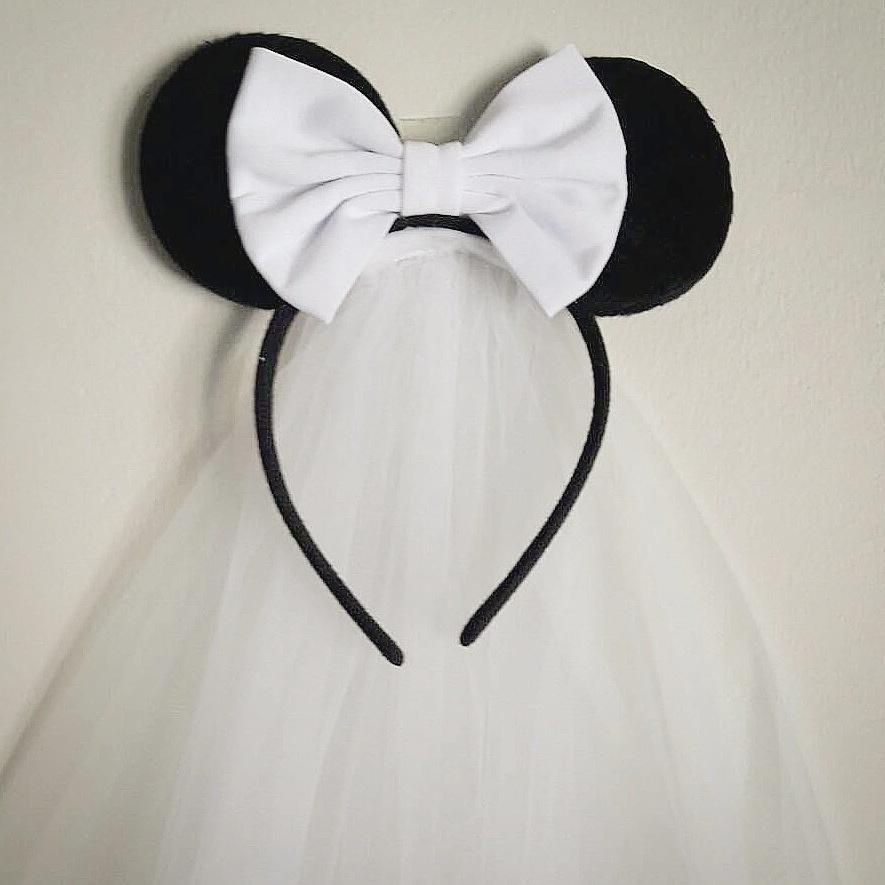 Adorable Mickey Mouse Veil