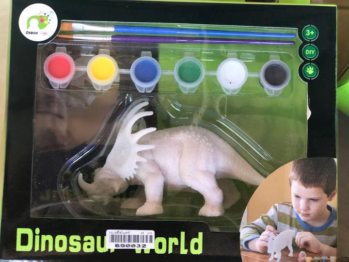 ระบายสีไดโนเสาร์