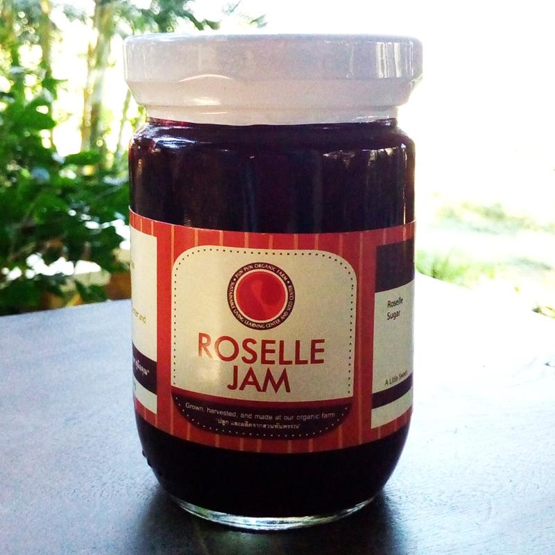 แยมกระเจี๊ยบ Roselle jam