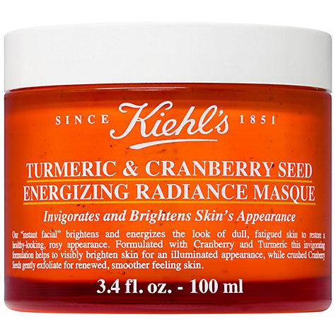 (ลด28%) Kiehl's Turmeric & Cranberry Seed Energizing Radiance Masque 100ml
