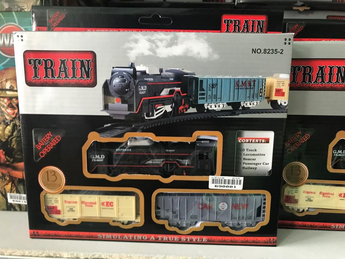 รถไฟโบราณ