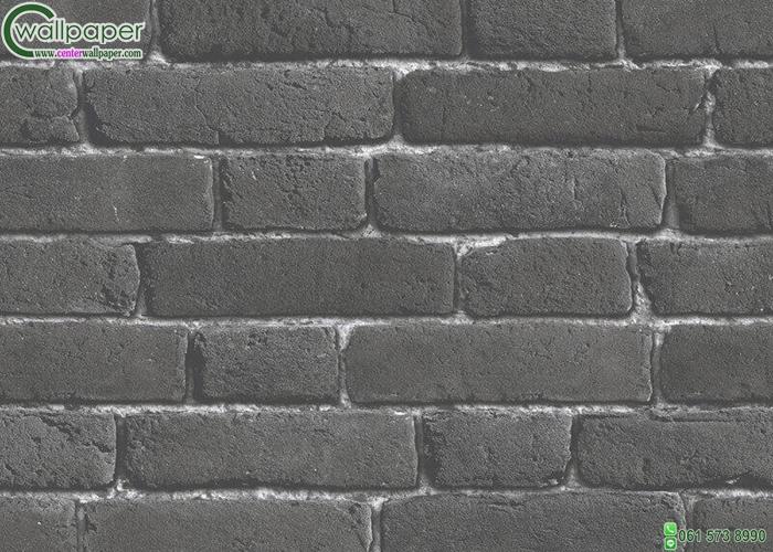 wallpaper ลายอิฐดำ
