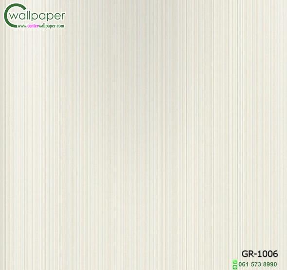วอลเปเปอร์ติดผนังลายทางเล็กสีขาวอมเขียว