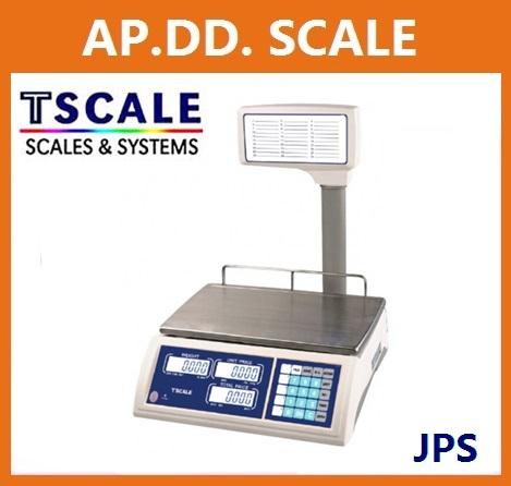 ตาชั่งคำนวณราคา30กิโลกรัม เครื่องชั่งแสดงคำนวณราคา30000g ตาชั่ง30กิโล เครื่องชั่งน้ำหนักชั่ง30kg ความละเอียด0.005kg ยี่ห้อ TSCALE รุ่น JPS