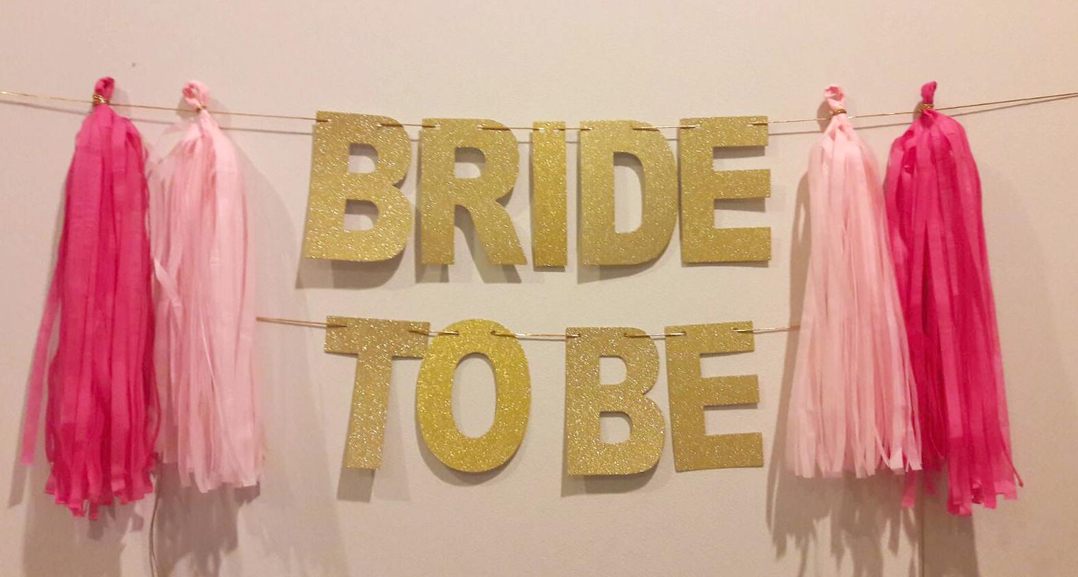 BRIDE TO BE Backdrop 3