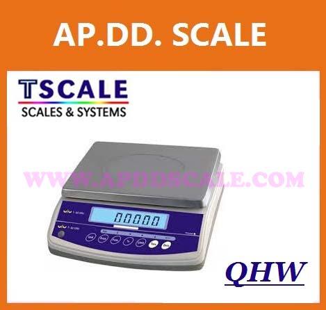 เครื่องชั่งดิจิตอล ตาชั่งดิจิตอล เครื่องชั่งตั้งโต๊ะ 3kg ความละเอียด0.1g TSCALE รุ่น QHW-R (เหมาะสำหรับชั่งงานไปรษณีย์ หรือสินค้าทั่วไปในโรงงานอุตสาหกรรม หรือการผลิตอื่นๆ)