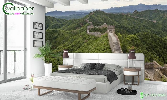 วอลเปเปอร์ติดผนังภาพวิว กำแพงเมืองจีน (Great Wall of China)