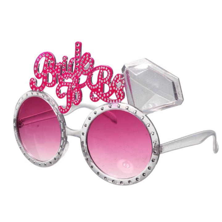 แว่นตา BRIDE TO BE (อุปกรณ์งานปาร์ตี้สละโสด Hen Night Party)