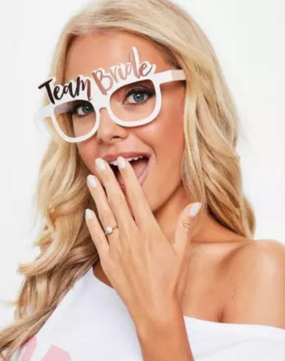 *BESTSELLER* Paper Eyeglasses - TEAM BRIDE / BRIDE TO BE