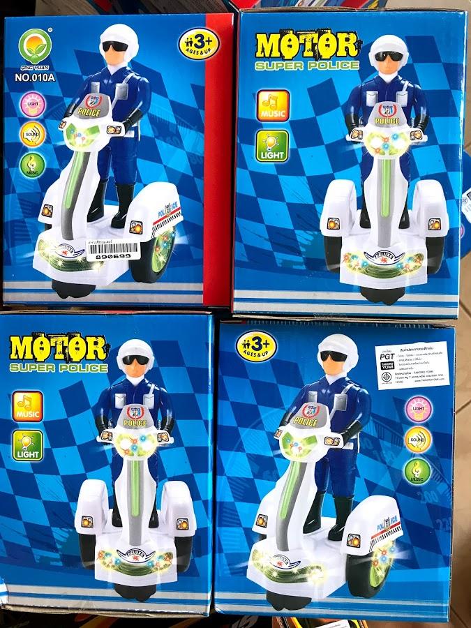 ของเล่นเด็ก ตำรวจขี่รถมอเตอร์ไซต์