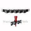 รางเก็บไขควง PB Swiss Tools รุ่น PB 505.S ยาว 230 มม. เก็บไขควงได้ 6 อัน แขวนผนังหรือตั้งโต๊ะได้