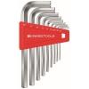 หกเหลี่ยมชุด PB Swiss Tools หัวตัด สั้น รุ่น PB 210 H-10 (9 ตัว/ชุด)