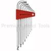 หกเหลี่ยมชุด PB Swiss Tools หัวบอล ยาว *NEW VERSION รุ่น PB 3212 LH-10 (9 ตัว/ชุด) เบอร์ 1.5-10 มม.