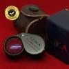 กล้องส่องพระ Leika 10x18mm ของแท้ (บอดี้สีดำ) หุ้มยางมือจับ