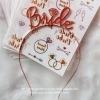 BRIDE Metal Headband (Rose Gold)