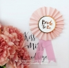 BRIDE TO BE Badge (Pink & Gold)