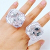 Flashing LED Diamond Ring