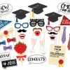 HAPPY GRADUATION Photo Prop Set