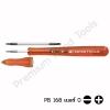 ไขควงปากกา PB Swiss Tools รุ่น PB 168-0 RED พร้อมแกนไขควง ปากแบน/แฉก เบอร์ 0 & ปลอกสวม สีแดง