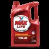 วาโวลีน แมกซ์ไลฟ์ ขนาด 4+1 ลิตร (Valvoline MAXLIFE SAE 10W-40, API SN)