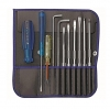 ไขควงชุด PB Swiss Tools รุ่น PB 9215 Blue + ไขควงลองไฟ PB + หกเหลี่ยมหัวบอล ซองหนัง ริมน้ำเงิน (11 ตัว/ชุด)