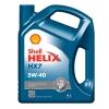 เชลล์ เฮลิกส์ HX7 5W-40 ขนาด 4 ลิตร (Shell Helix HX7 5W-40, API SN/CF, ACEA A3/B4)