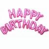 """ลูกโป่งฟอยล์ HAPPY BIRTHDAY 16"""" (สีชมพู)"""