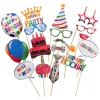 HAPPY BIRTHDAY Photo Prop Set