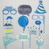 FIRST BIRTHDAY (BOY) Photo Booth Prop