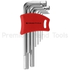 หกเหลี่ยมชุด PB Swiss Tools หัวตัด ยาว รุ่น PB 210 DH-10 (9 ตัว/ชุด) พร้อม Socket ใหม่