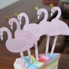 PASTEL FLAMINGO Cake Topper