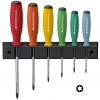 ชุดไขควง PB Swiss Tools รุ่น PB 8440 RB ด้ามยาง หัว Torx พร้อมที่ติดผนัง (6 ตัว/ชุด)