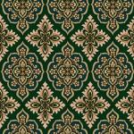 Wallpaper ลายหลุยส์สีเขียว