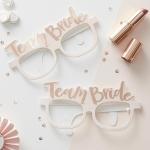 Paper Eyeglasses - TEAM BRIDE / BRIDE TO BE