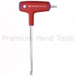 หกเหลี่ยม PB Swiss Tools หัวบอล หัวตัด ใช้ขันได้ 2 ทาง รุ่น PB 1208 พร้อมด้ามยาง