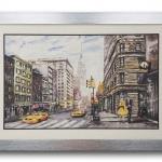 กรอบรูป ภาพวาดมหานครนิวยอร์ค
