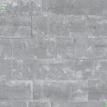 wallpaper ลายอิฐเทาปนขาว