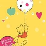 วอลเปเปอร์ลายหมีพูสีเหลือง