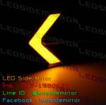 ไฟเลี้ยว LED COB 18 ดวง กระพริบ 1 Step สีเหลือง