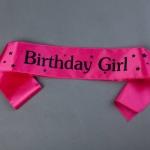 สายสะพาย Birthday Girl