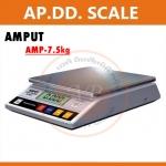 ตาชั่งดิจิตอล เครื่องชั่งดิจิตอล เครื่องชั่งแบบตั้งโต๊ะ เครื่องชั่ง Digital Scale 7500g ทศนิยม 1 ตำแหน่ง รุ่น APTP457A ยี่ห้อ AMPUT