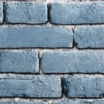 wallpaper ลายอิฐสีฟ้า
